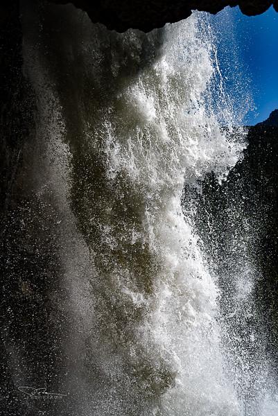 Behind Panther Falls