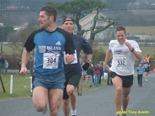 2004 Pioneer 8K - Tony Austin - Cliff Kennell wins a FIERCE kicking duel with Mike Neill and Rob Harmsworth