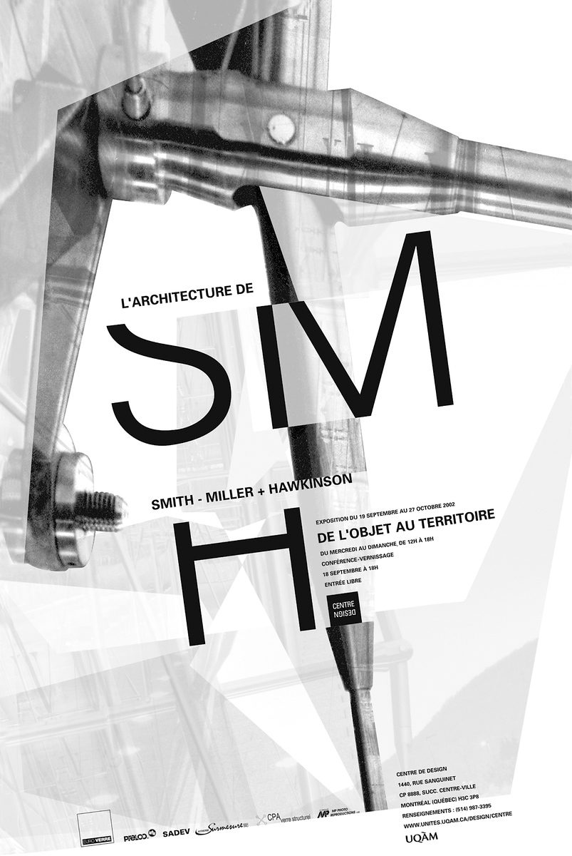 2002 - Exposition - L'archirecture de Smith-Miller + Hawkinson De l'objet au territoire ©Melissa Mongiat