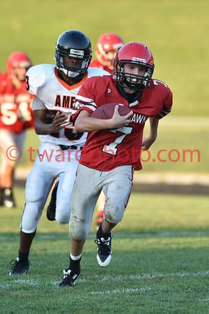 2015 CHS Freshman Football - Ames