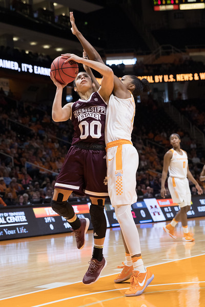 NCAA Basketball 2017: Mississippi State vs Tennessee JAN 08