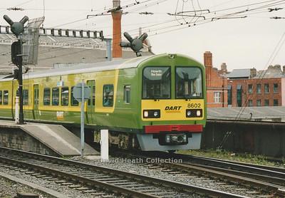 Dublin Area Rapid Transit IE 8500 Class 8601-02 to 8607-08(Tokyu Car Corporation)