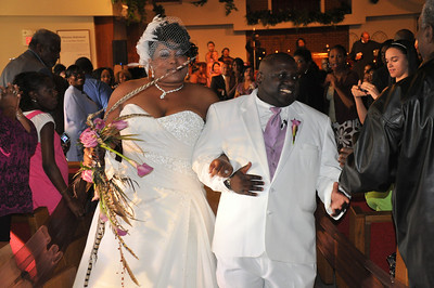 Ashlee & Maurice McLaurian Wedding Oct 2, 2010