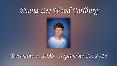Diana Lee Wood Calburg