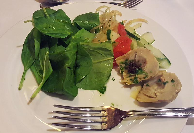 Vegan Food at the Italian Restaurant
