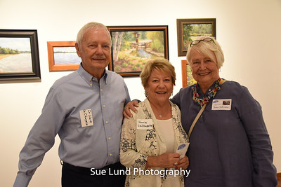 Art Gallery opening at Ames VIP reception COPYRIGHTED