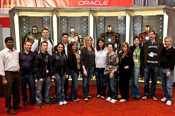 2010 Oracle OpenWorld Hall of Armor