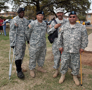 Military at the Austin Meet