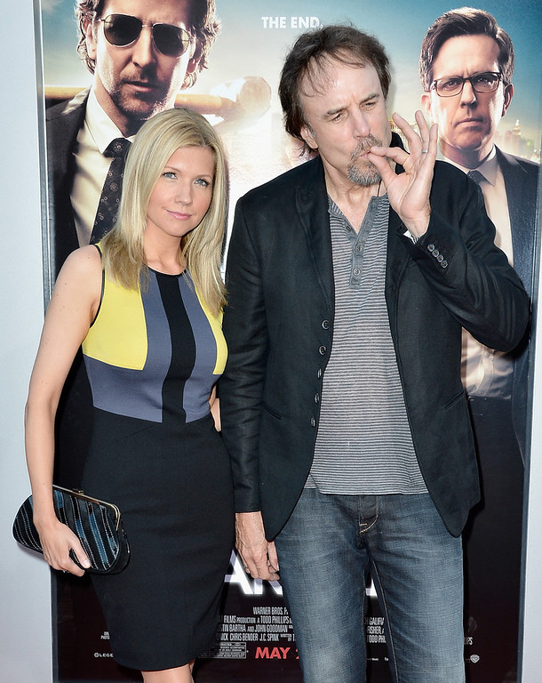""". Actors Susan Yeagley (L) and Kevin Nealon attend the premiere of Warner Bros. Pictures\' \""""Hangover Part 3\"""" at Westwood Village Theater on May 20, 2013 in Westwood, California.  (Photo by Frazer Harrison/Getty Images)"""