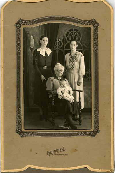 Four Generations: Eva, Amelia, Josephine & Gertrude