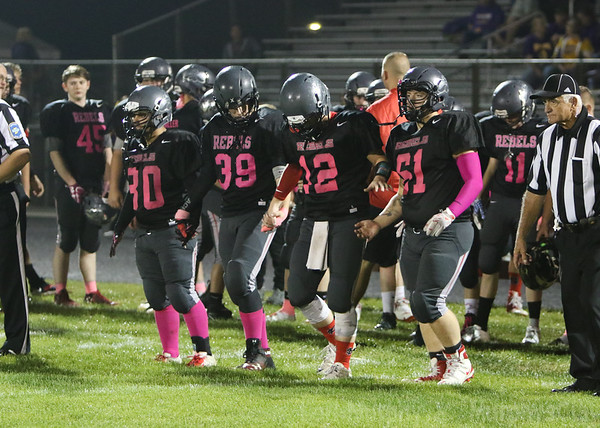 SNHS Football vs Casey-Westfield - Senior Night - Pink Out 2018