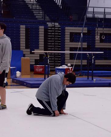 Volunteer work for US Gymnastics 2014