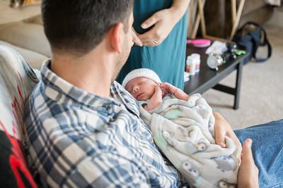 Luke, 5 days old!