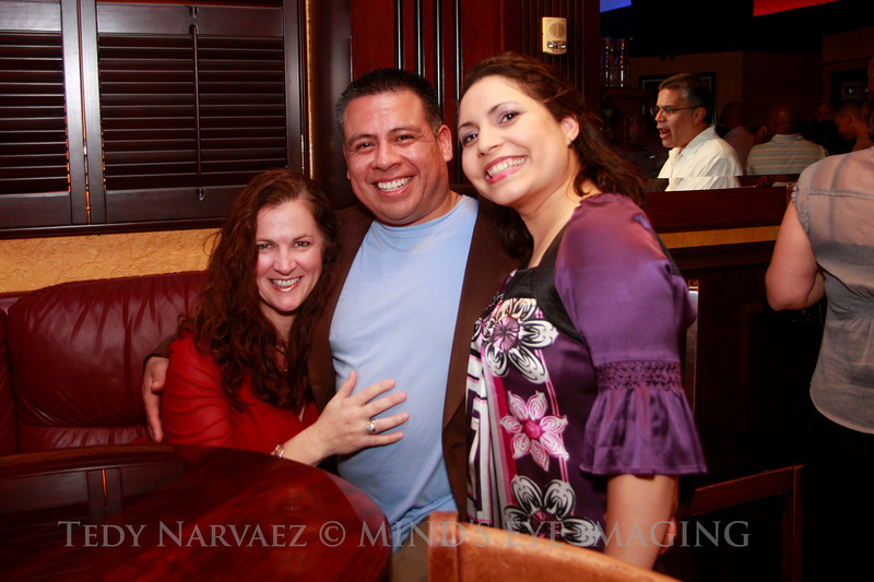 Lawanna (L), Tedy & Emille (R)