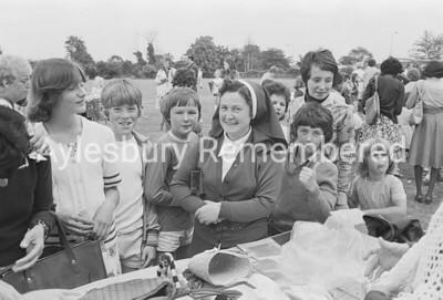 St Louis School fete, July 1977