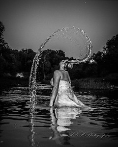 Trash the dress!