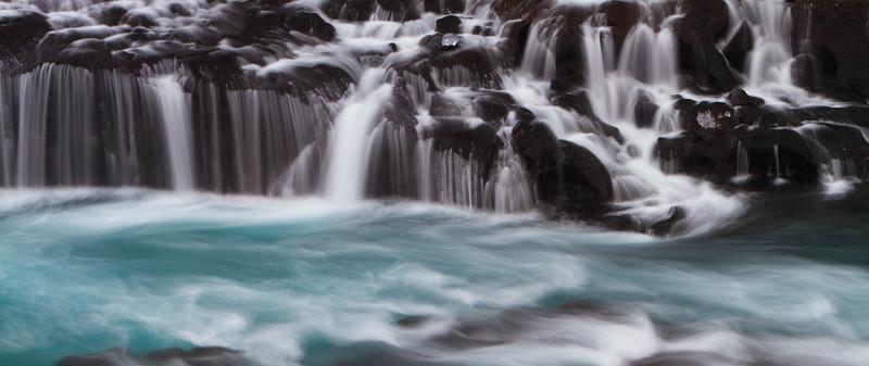 Hraunfoss falls, Iceland