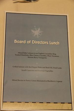 DU2013 Board of Directors Luncheon