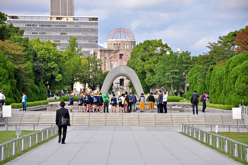 The Hiroshima Peace Memorial. Editorial credit: Wojtek Chmielewski / Shutterstock.com