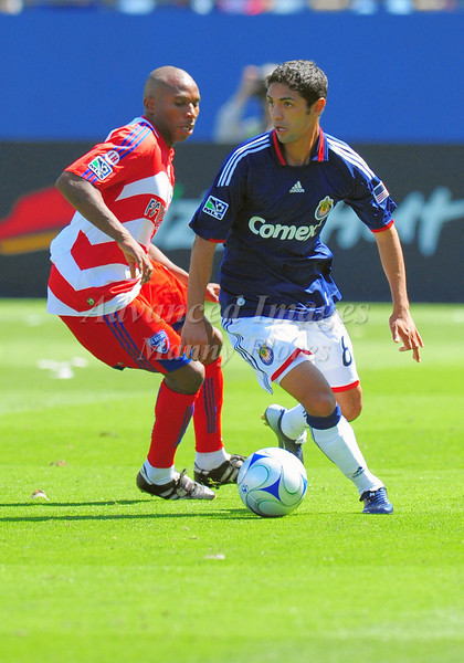 29, March 2009:  Chivas USA defender Mariano Trujillo #8in action during the soccer game between FC Dallas & Chivas USA at the Pizza Hut Stadium in Frisco,TX. Chivas USA  beat FC Dallas 2-0.Manny Flores/Icon SMI
