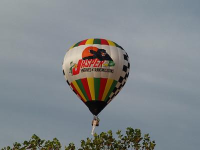 Hot Air Ballonfest Oct 20, 2012