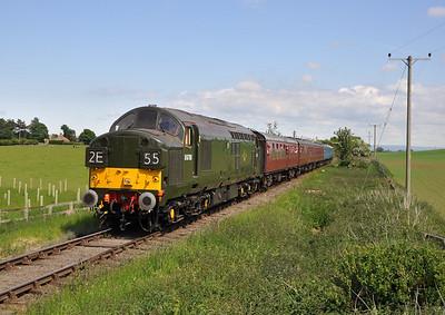 Wensleydale Railway Diesel Gala. 08/06/13.