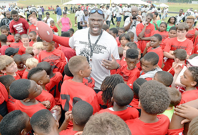 Travelle Football Camp 2014