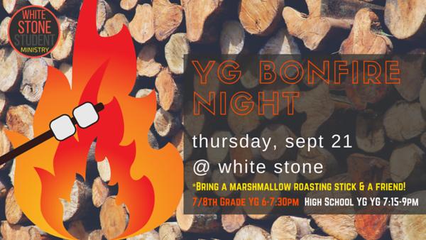 YG BONFIRE (sept 2017)