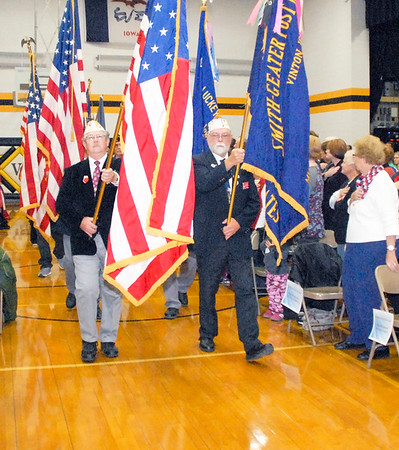 Vinton-Shellsburg Veterans' Day observance