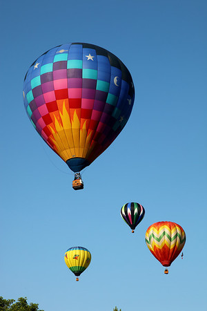 Quechee Balloon Festival - Set up and Launch