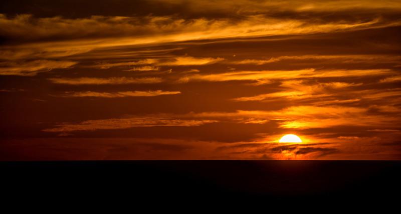 Sunrise over the Sea of Cortez