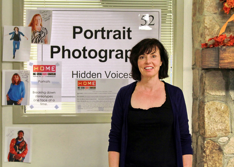 """Lynden Harris of the Hidden Voices Portraits Project.  Breaking down stereotypes one face at a time.  """"Home is Not One Story"""""""
