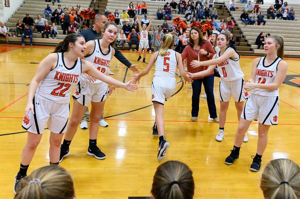 NDHS Ladies Basketball vs Ledford 2020
