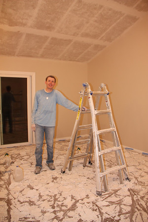 Goodbye Popcorn - Ceiling Makeovers