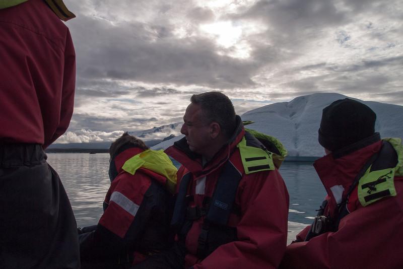 other folks on the zodiac boat