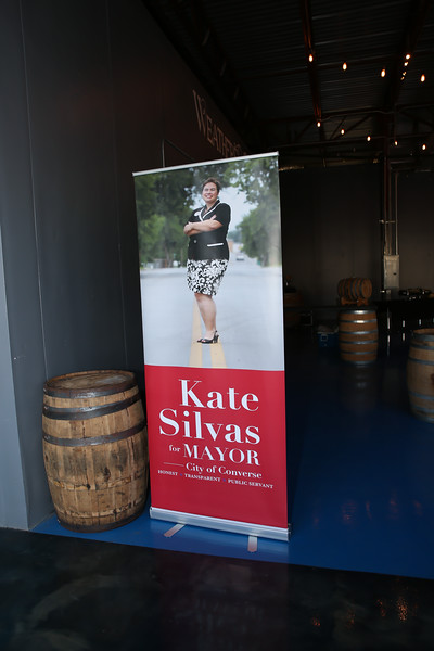 Kate's Official Launch Party in her campaign for Mayor of Converse