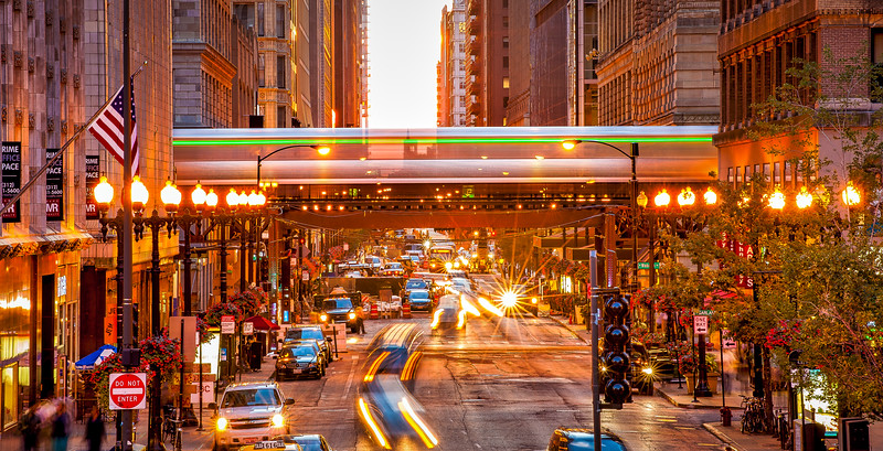 Chicago Henge - The Green Line