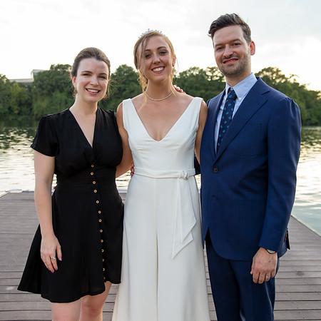 Elena and Duncan Wedding Reception Portraits
