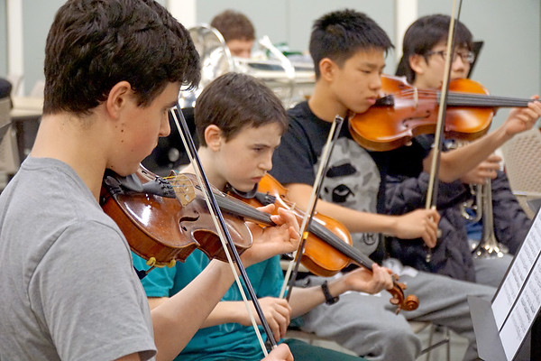 Cardigan's Ensemble Tunes Up