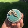 Vintage Mini Plume Pin 16