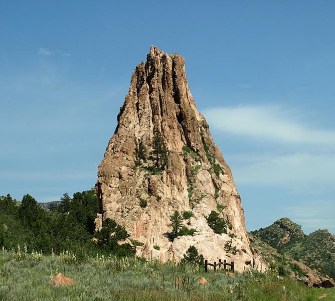 Rock Formation in Garden of the Gods - Colorado Springs, Colorado