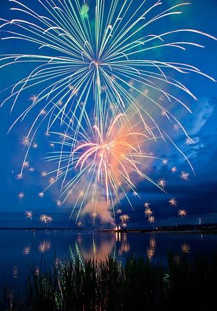 Wabamun Fireworks 2012