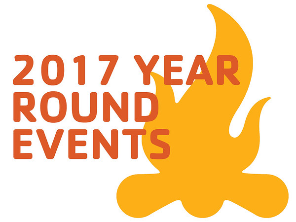 2017 Year Round Events