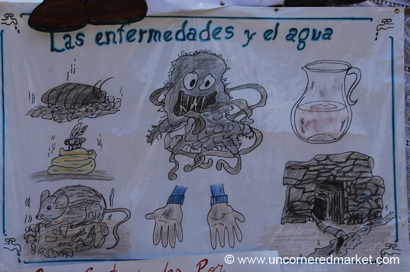 Common Sicknesses, as Drawn by Schoolkids - Potosi, Bolivia