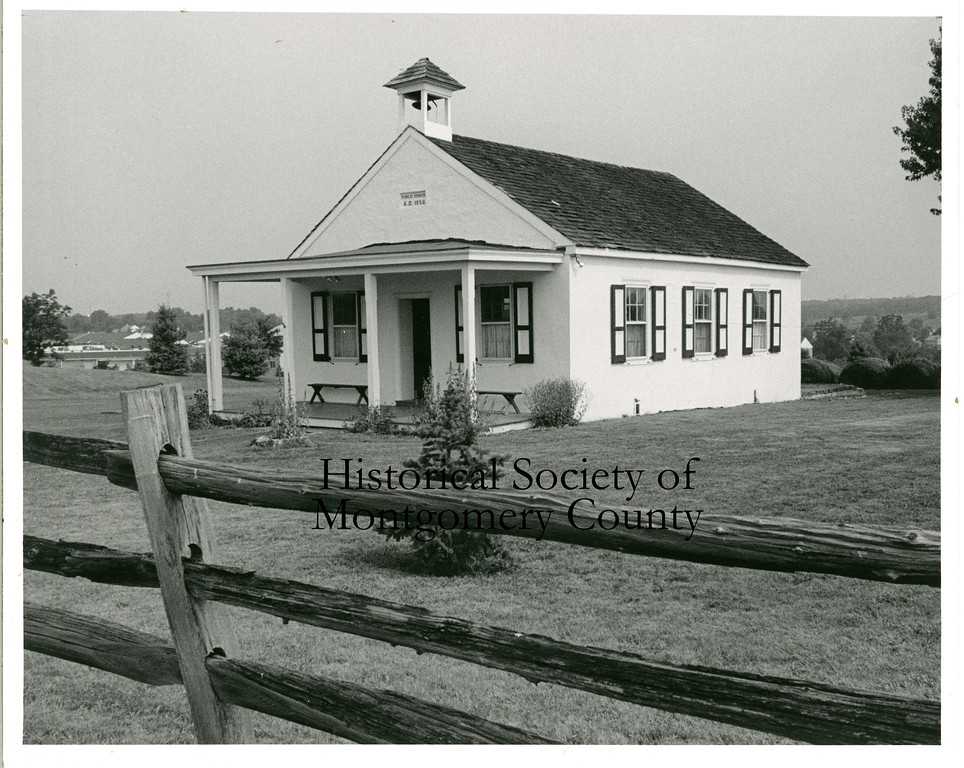 . This photo from the Historical Society of Montgomery County shows the Franklinville School, a one room schoolhouse located at 1701 Morris Rd. in Blue Bell, in 1992.