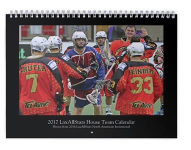 2017 LaxAllStarsHouse Team Calendar (photos from LASNAI2016)