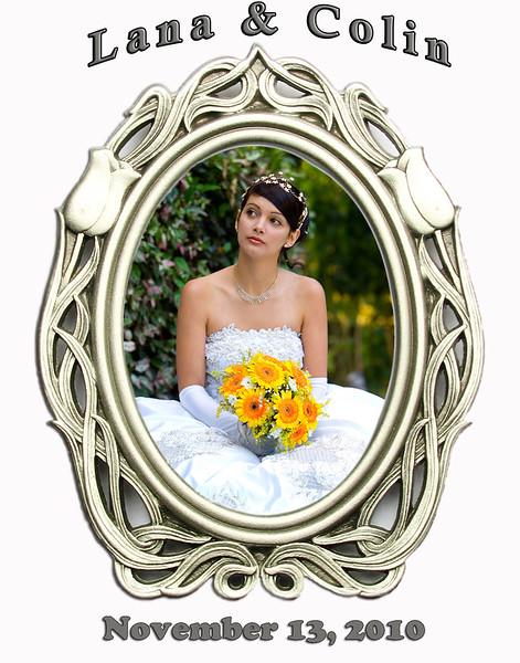 wedding magnet frame -Silver formal.jpg