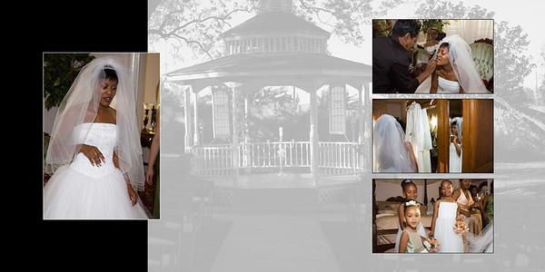 Wedding Digital Album pages