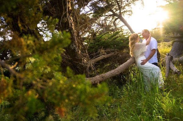 Keri and Rob Engagement @ Lighthouse Field, Dog Beach in Santa Cruz