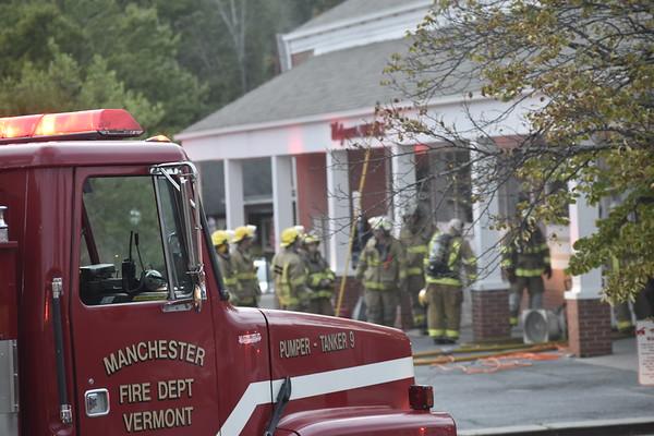 Fire at Manchester Walgreens